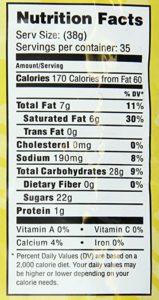 MOCAFE caramel frappe nutrition facts