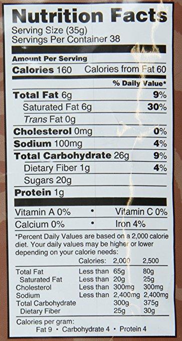 mocafe maui mocha nutrition facts